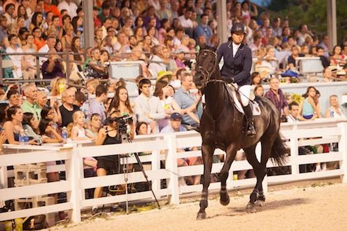 Beezie Madden and Cortes 'C' in last year's grand prix; Photo © Brenda Carpenter