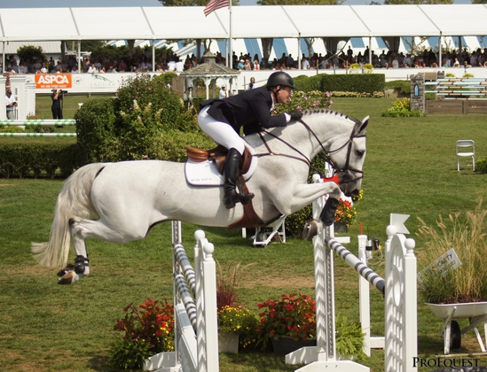 Ward and Antares F at The 2012 Hampton Classic