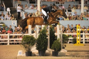 McLain Ward and Rothchild on their way to victory in 2013; Photo by The Book LLC