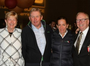 Margaret Duprey, Nick Skelton, Laura Kraut and Chip McKenney